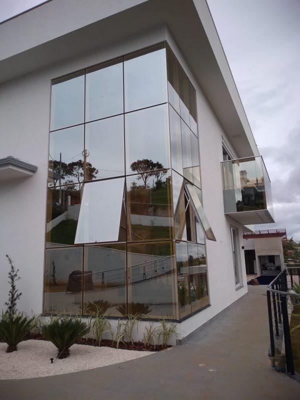 fachada glazing contagem
